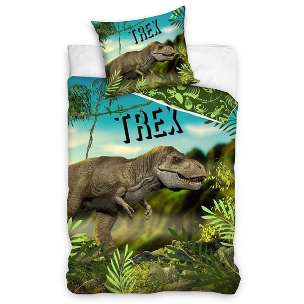 Pośćiel dla dzieci 160 x 200  Dinozaur Trex